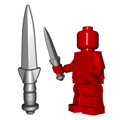 Minifigure Weapon - Dirk