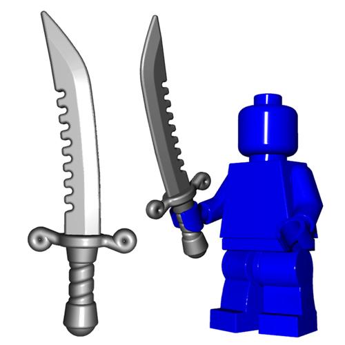 Minifigure Weapon - Breaker Sword