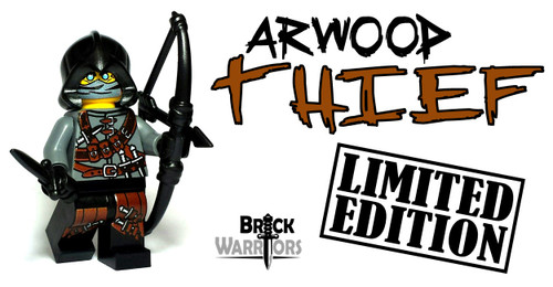 Custom LEGO® Minifigure - Arwood Thief