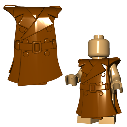 Minifigure Coat - Trench Coat