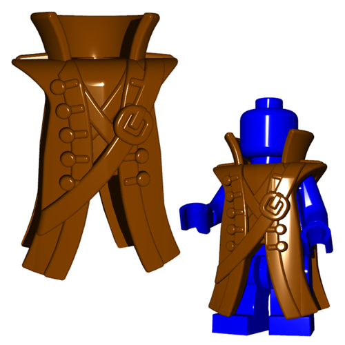 Minifigure Clothing - Pirate Coat