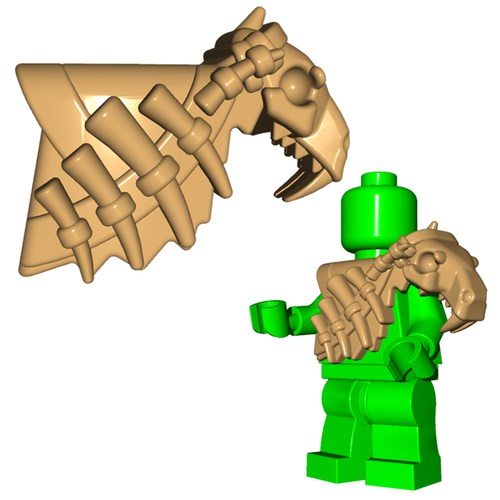 Minifigure Armor - Sabertooth Armor