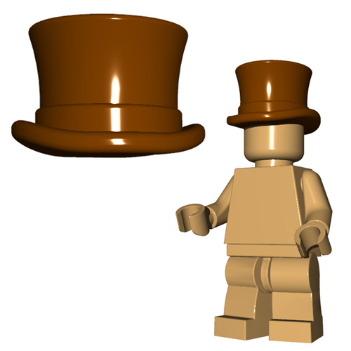 Minifigure Hat - Top Hat