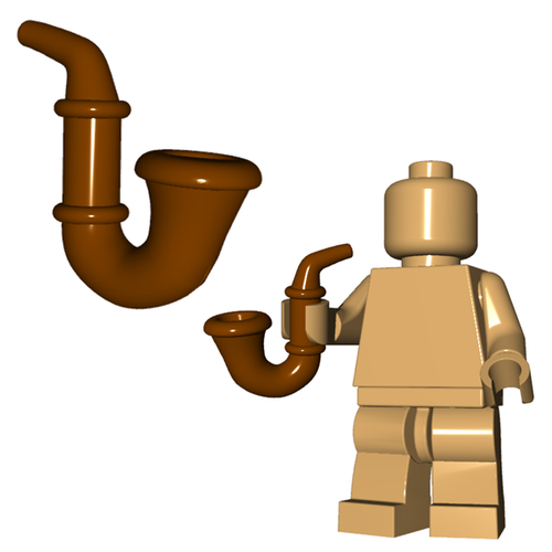 Minifigure Accessory - Gentleman's Pipe