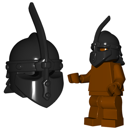 Minifigure Helmet - Thrall Helmet
