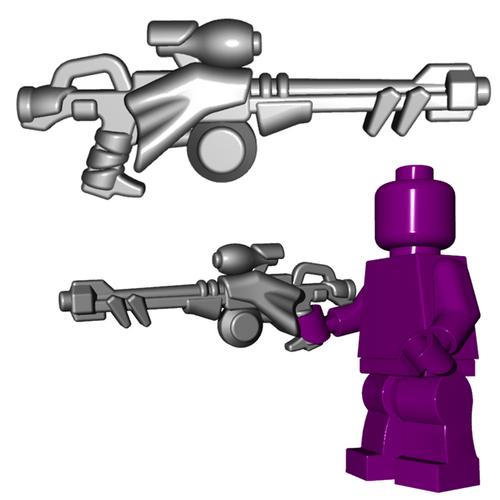 Minifigure Weapon - Scavenger Rifle