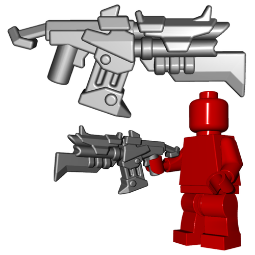 Minifigure Gun - Raider Shotgun