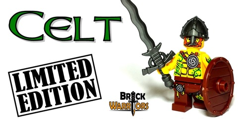 Custom LEGO® Minifigure - Celt Warrior