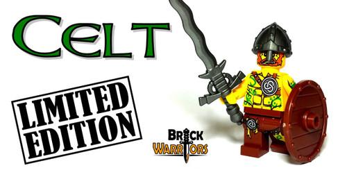 Custom LEGO® Minifigure - Celt Warrior