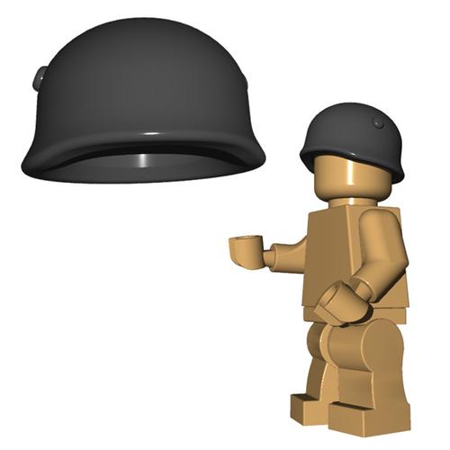 Minifigure Helmet - Fallschirmjager Helmet