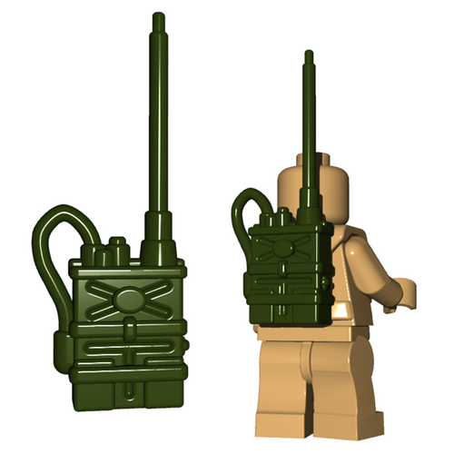 Minifigure Accessory - Radio Pack