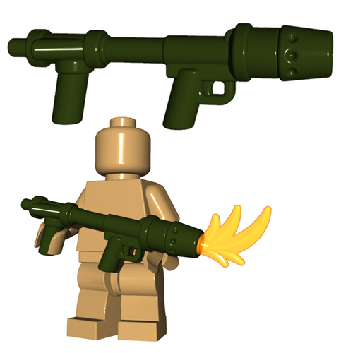 Custom Minifigure Gun - US Flamethrower
