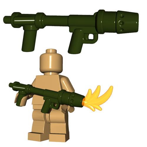 Custom Minifigure Gun - US Flamethrower