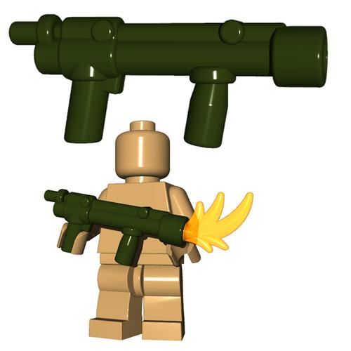Minifigure Gun - British Flamethrower