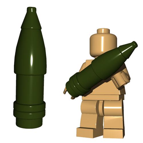 Custom Minifigure Accessory - Artillery Shell