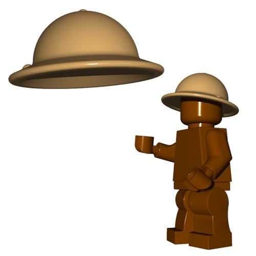 Minifigure Helmet - Brodie Helmet