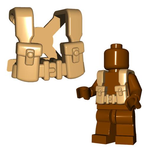 Minifigure Armor - British Suspenders