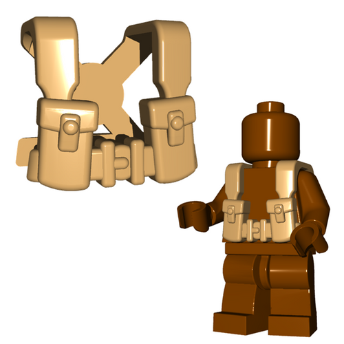 Minifigure Armor - British Suspenders