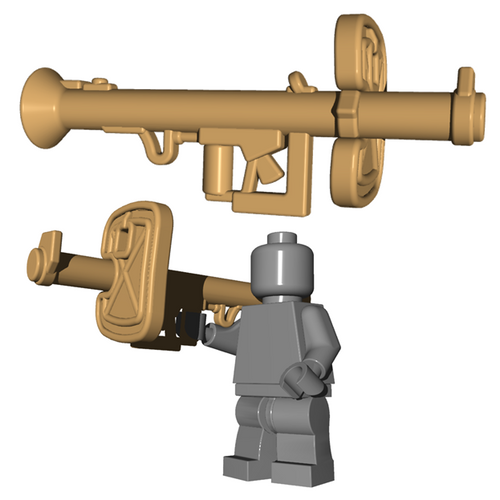 Custom Minifigure Weapon - Panzerschreck