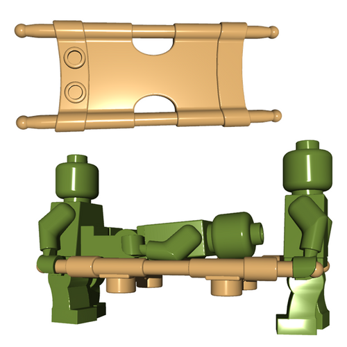 Minifigure Accessory - Stretcher