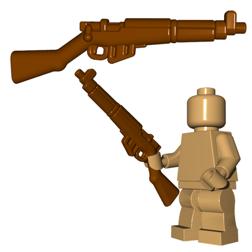 Minifigure Gun - British Rifle