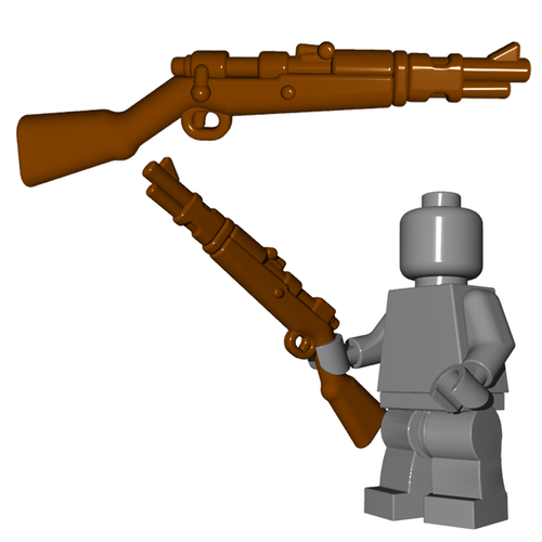 Minifigure Gun - German Rifle