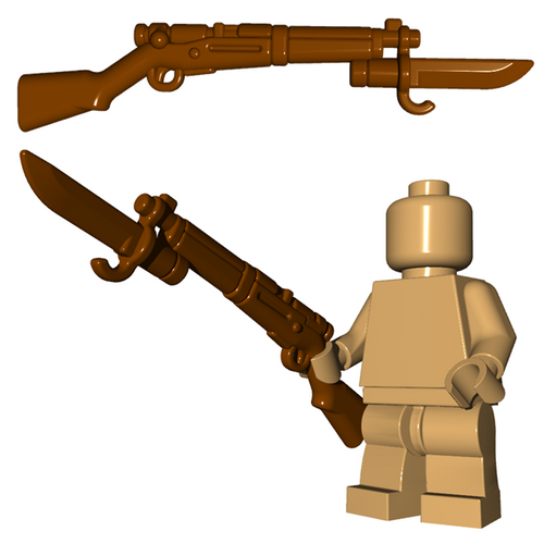 Minifigure Gun - Japanese Rifle