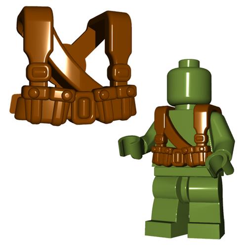 Minifigure Armor - Soviet Suspenders