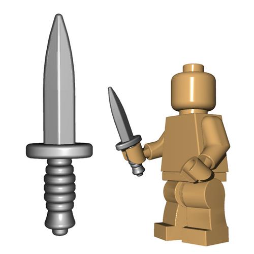 Custom LEGO® Weapon  - Commando Knife