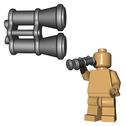 Custom Minifigure Accessory - Binoculars