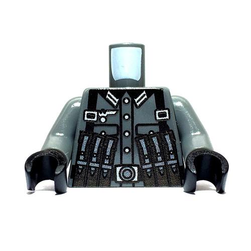 Minifigure Custom Torso - German Gunner