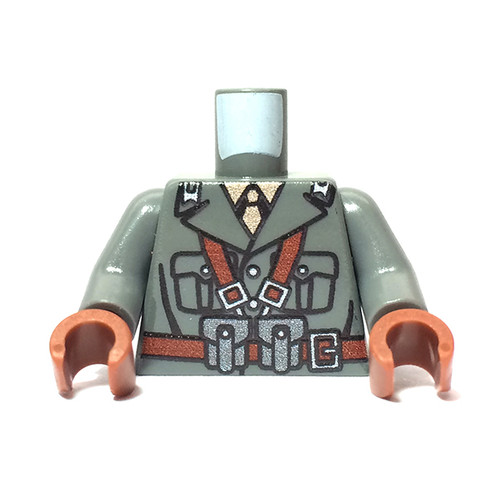 Minifigure Torso - Italian Infantry Torso