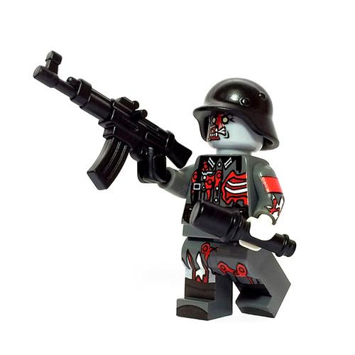Custom LEGO® Minifigure - German Zombie