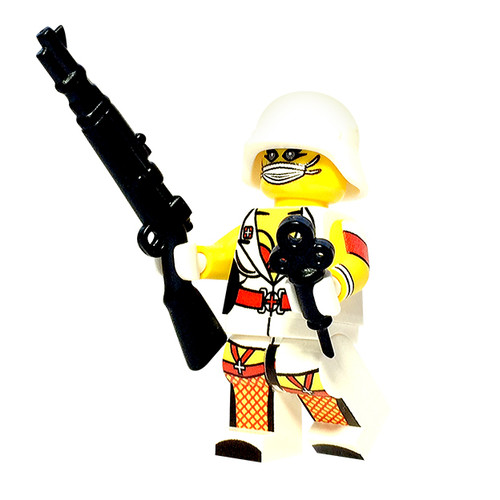 Custom LEGO® Minifigure - German Nurse