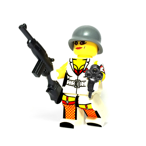 Custom LEGO® Minifigure - US Nurse
