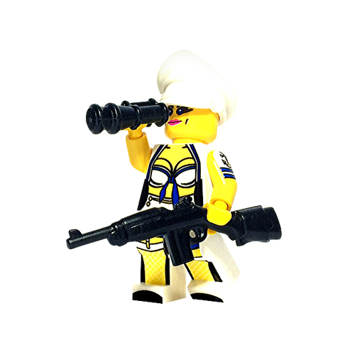Custom LEGO® Minifigure - US Navy Pinup