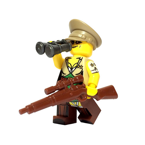 Custom LEGO® Minifigure - Female US General