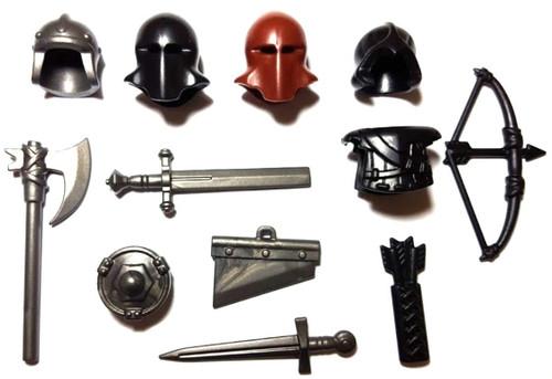 BrickWarriors Medieval Executioner Minifigure Accessories
