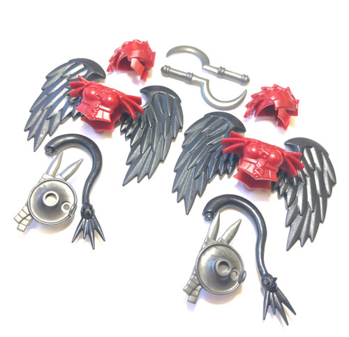 BrickWarriors Harpy Warrior Minifigure Accessories