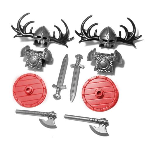 BrickWarriors Viking Minifigure Accessories