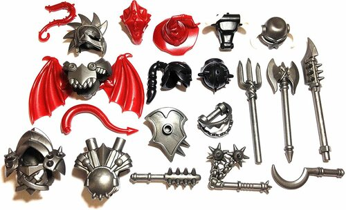 BrickWarriors Ultimate Castle Monster Minifigure Accessories