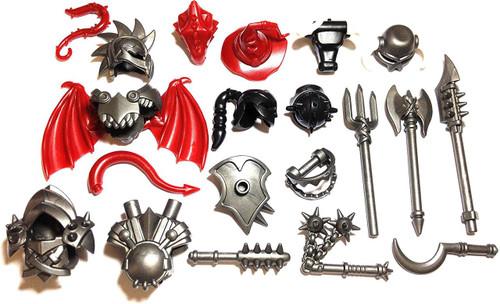 BrickWarriors Ultimate Castle Monster Minifigure Accessories