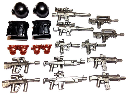 BrickWarriors Special Forces Minifigure Accessories