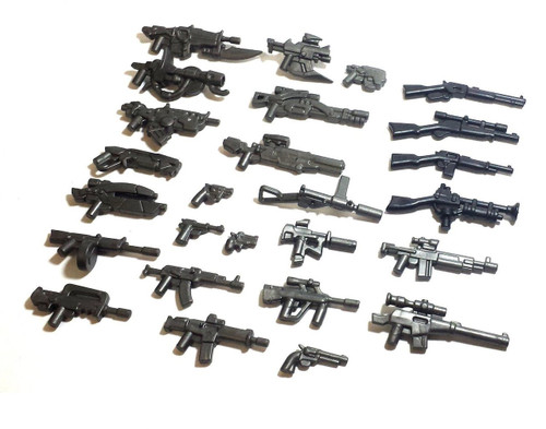 BrickWarriors Ultimate Modern Gun Pack