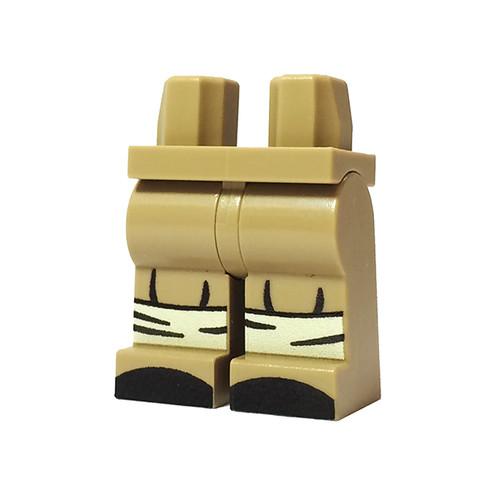 Custom Printed Minifigure Legs - British Infantry Legs