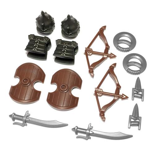 BrickWarriors Arabian Warrior Minifigure Accessories