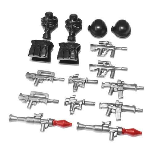BrickWarriors Modern Combat Minifigure Accessories