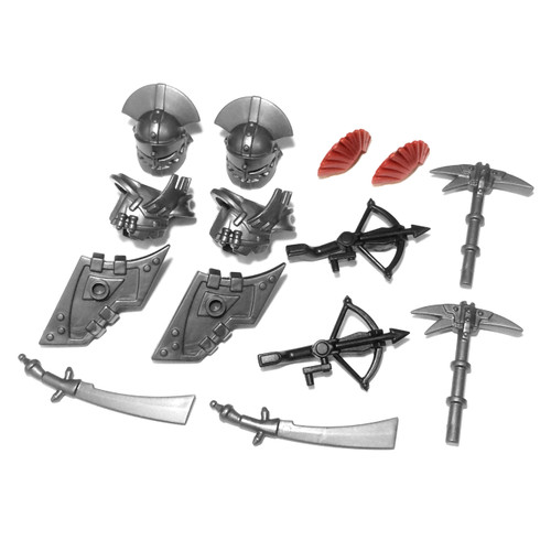 BrickWarriors Orc Warrior Minifigure Accessories