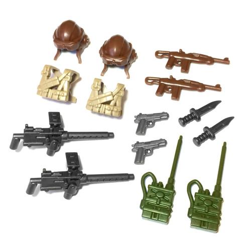 BrickWarriors WW2 US Pilot Minifigure Accessories