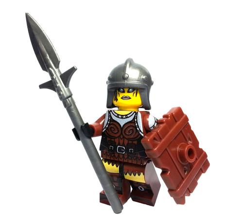 Custom LEGO® Minifigure - Female Elf Warrior